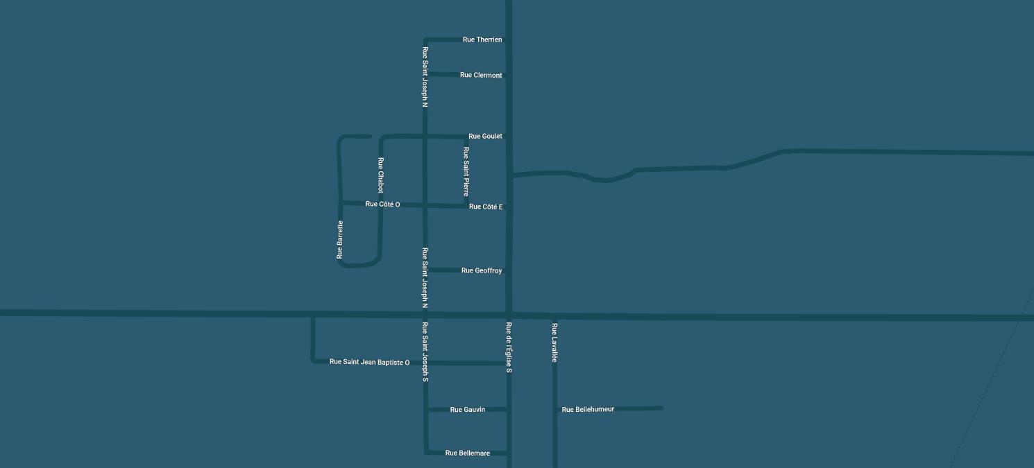 Clément Chrysler Location Map